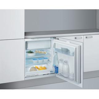 Whirlpool Ledusskapis Iebūvējams ARG 590 Balta Perspective open
