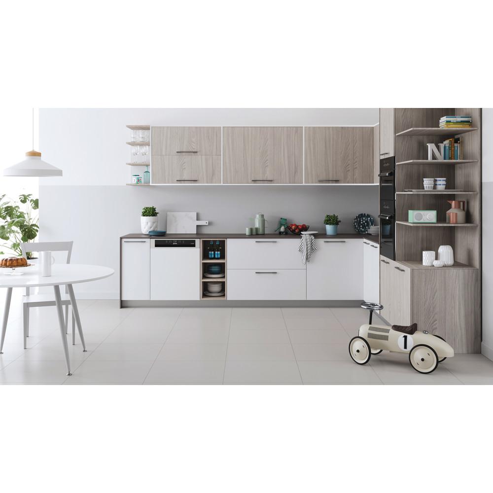 Indesit Lave-vaisselle Encastrable DBE 2B19 A X Int'grable F Lifestyle frontal