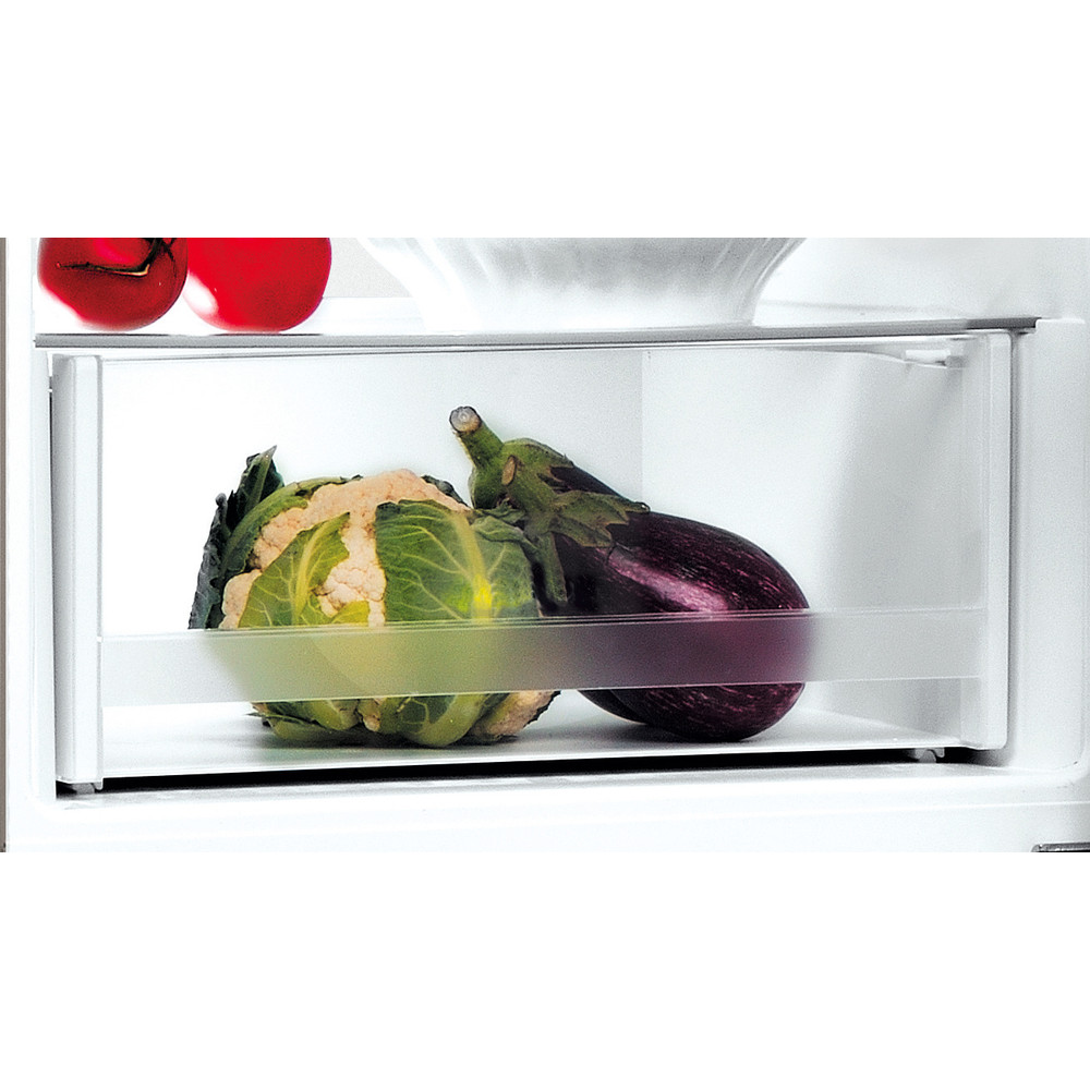 Indesit Kombinētais ledusskapis/saldētava Brīvi stāvošs LI9 S2E X Inox 2 doors Drawer