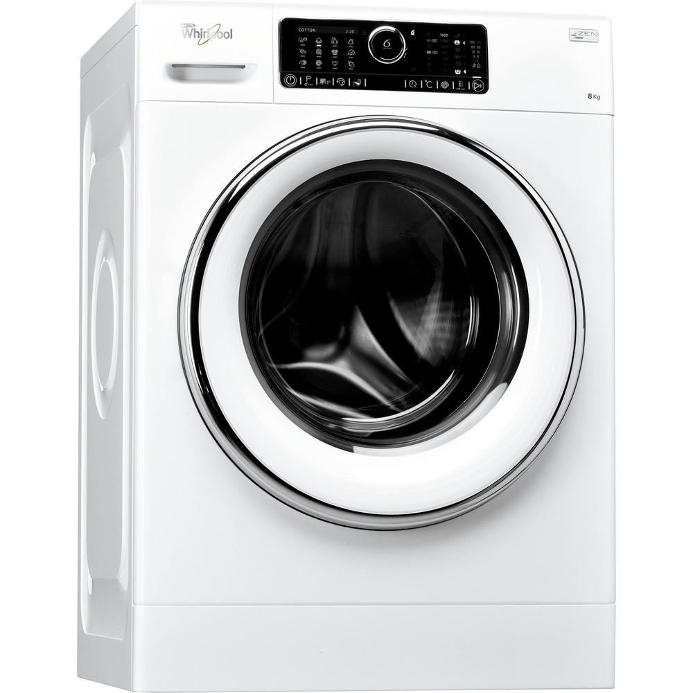 Whirlpool frontmatad tvättmaskin: 8 kg - FSCR80620