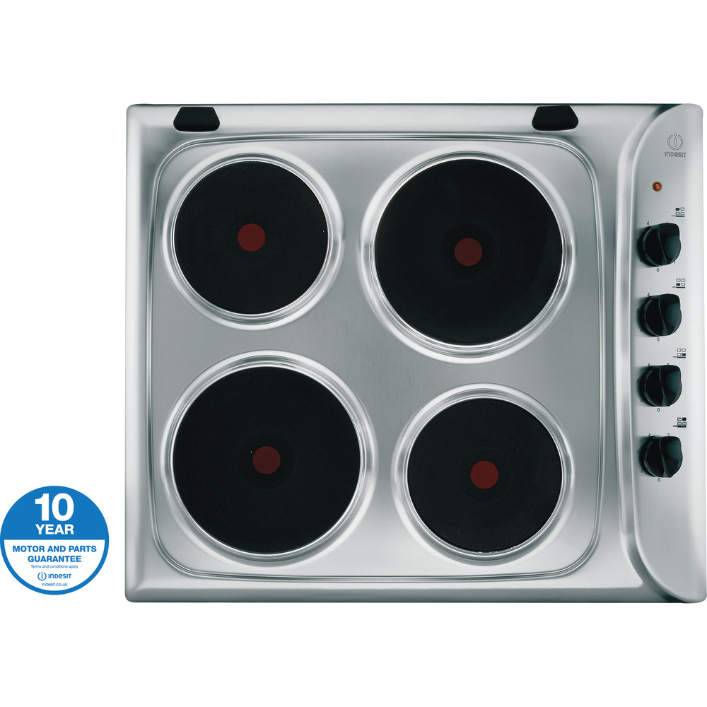 Indesit HOB PIM 604 (IX) GB Inox Solid Plate Award