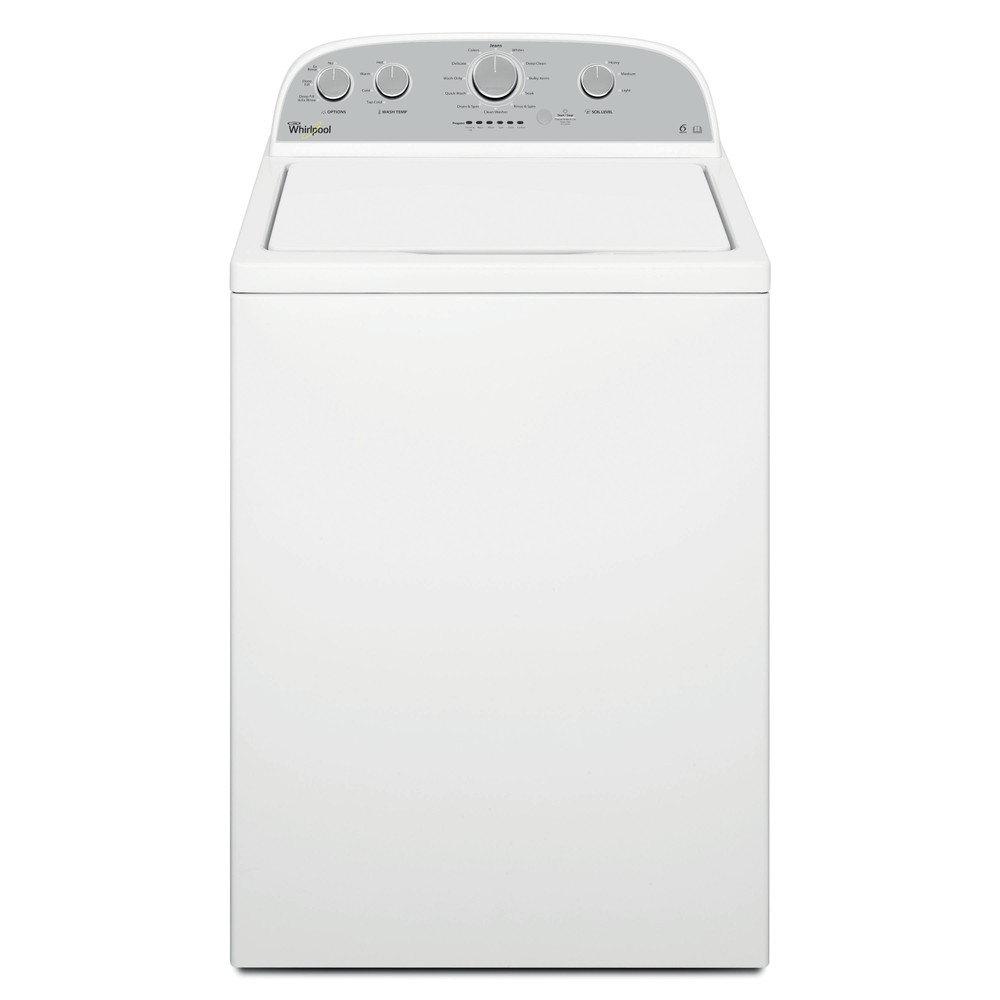Whirlpool Washing machine Free-standing 3LWTW4815FW White Top loader F Frontal