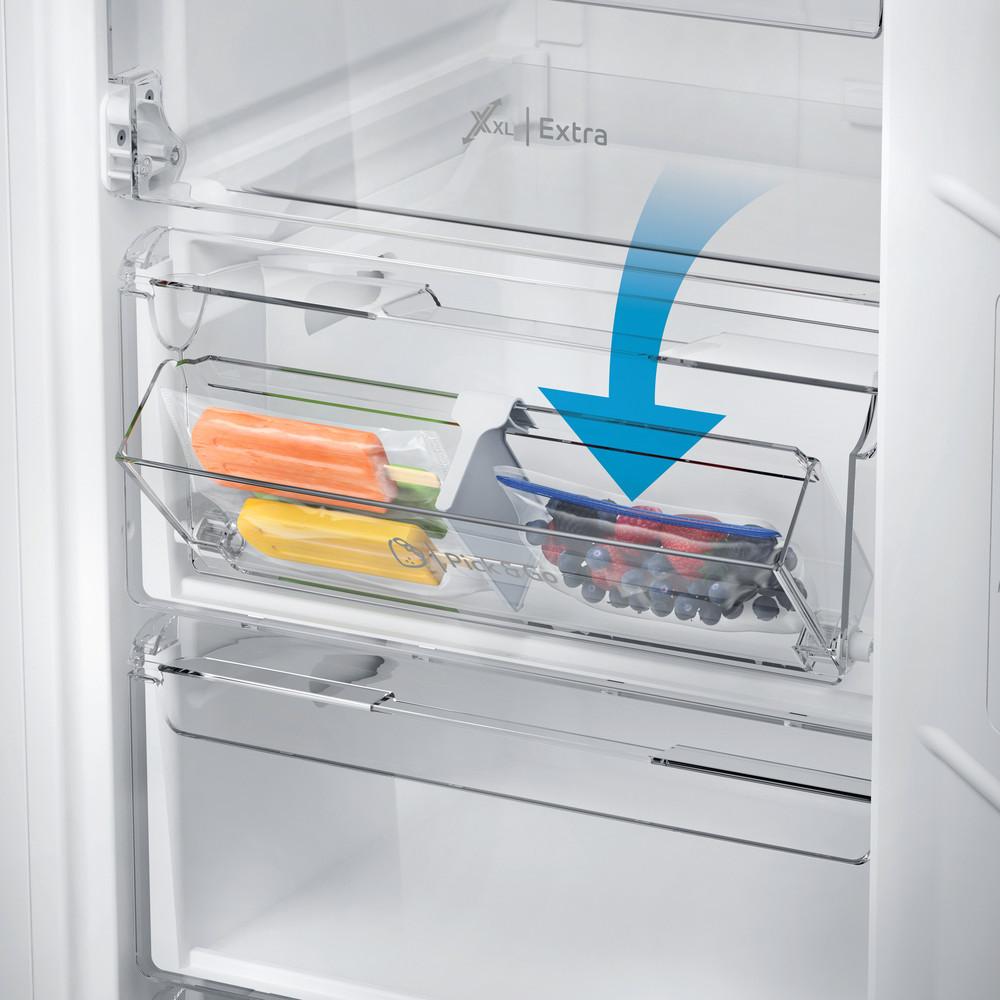 Indesit Морозильна камера Соло DFZ 5175 S Сріблястий Drawer