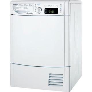 Asciugatrice a pompa di calore Indesit: a libera installazione, 8 kg