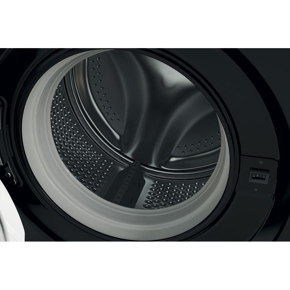 Indesit Washing machine Free-standing MTWC 71252 K UK Black Front loader E Drum