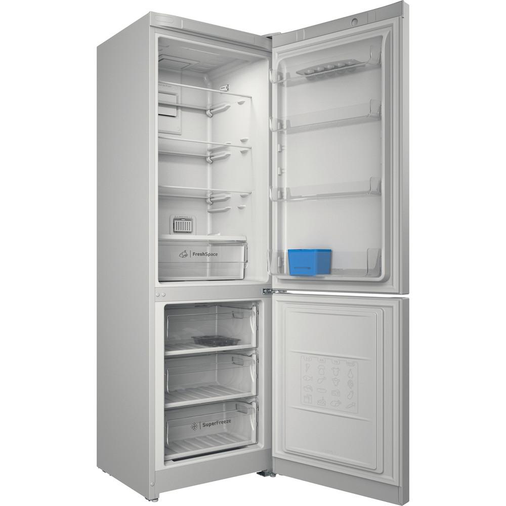 Indesit Холодильник с морозильной камерой Отдельно стоящий ITI 5181 W UA Белый 2 doors Perspective open