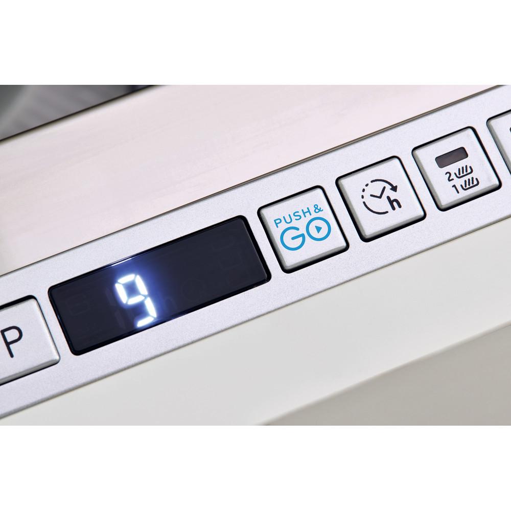Indesit Zmywarka Do zabudowy DSIO 3T224 CE Zintegrowane E Control panel