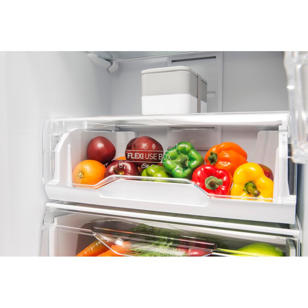 Indesit Холодильник з нижньою морозильною камерою. Соло DF 4201 W Білий 2 двері Drawer