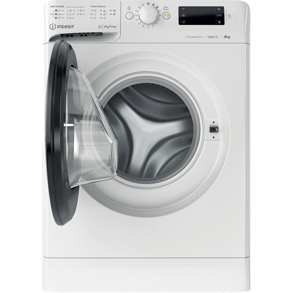 Indesit Пральна машина Соло OMTWE 81283 WK EU Білий Front loader A+++ Frontal open
