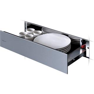 Whirlpool Platewarmer WD 142/IXL Inox Perspective open
