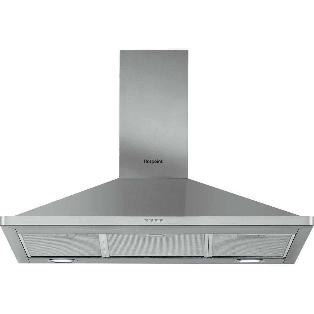 Hotpoint HOOD Built-in PHPN9.4FAMX Inox Wall-mounted Mechanical Frontal
