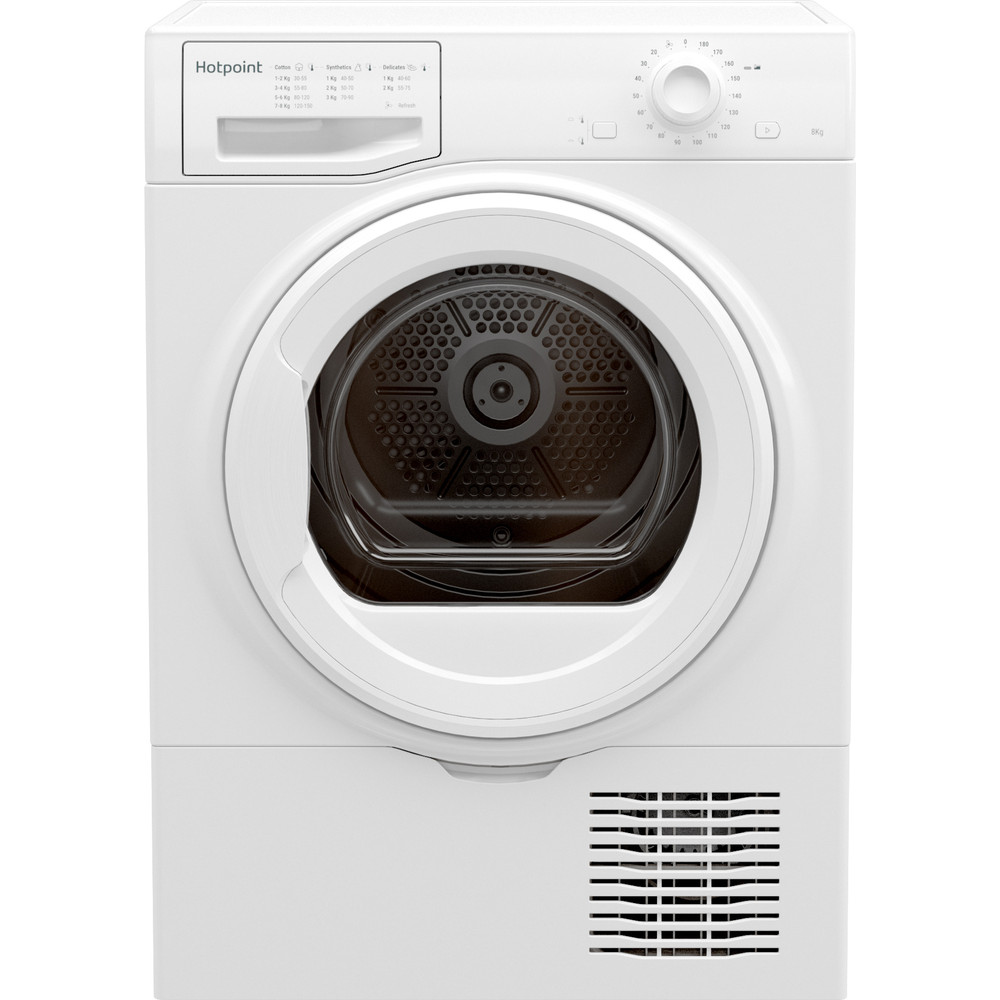 Hotpoint Dryer H2 D81W UK White Frontal