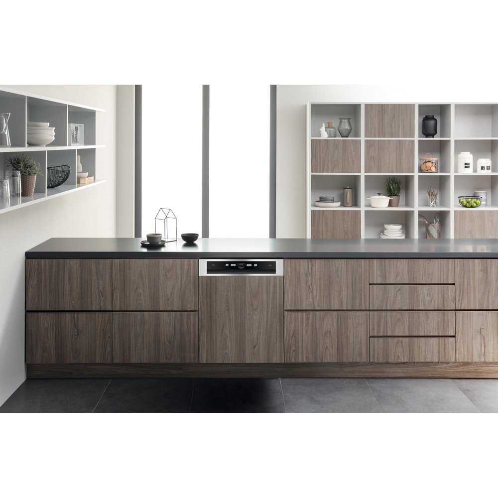 Hotpoint_Ariston Lavastoviglie Da incasso HBO 3C22 W X Semi-integrato A++ Lifestyle_Frontal