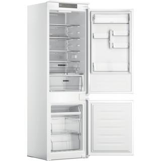 Whirlpool Fridge-Freezer Combination Built-in WHC18 T332 P UK White 2 doors Perspective open