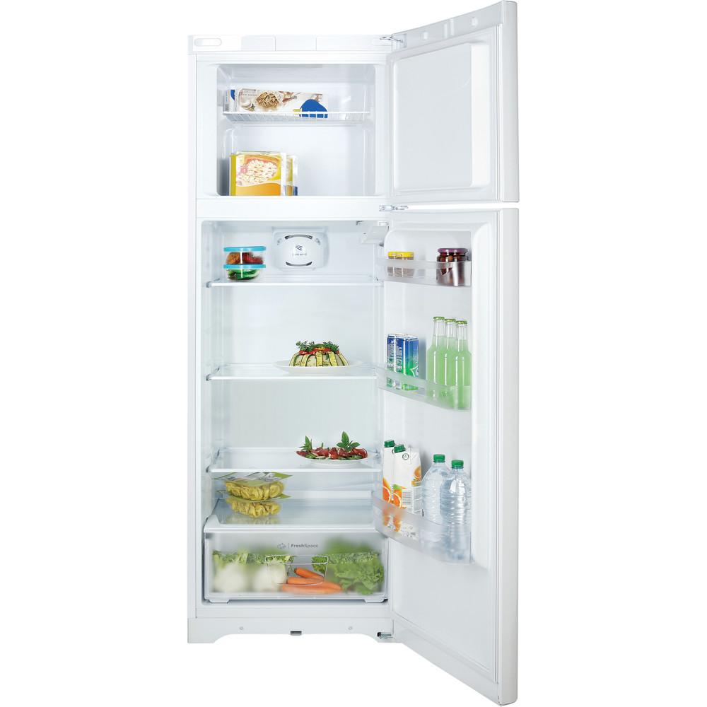 Indesit Combinazione Frigorifero/Congelatore A libera installazione TIAA 10 V.1 Bianco 2 porte Frontal open