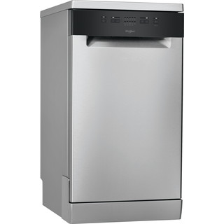 Whirlpool Dishwasher Free-standing WSFE 2B19 X UK Free-standing A+ Perspective