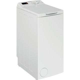 Indesit Tvättmaskin Fristående BTW S72200 EU/N White Top loader E Perspective