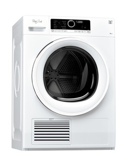 Whirlpool condenser tumble dryer: freestanding, 8kg - DSCX 80113