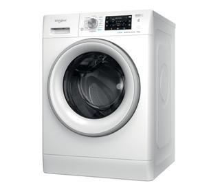 Vapaasti sijoitettava edestä täytettävä Whirlpool pyykinpesukone: 8,0 kg - FFD 8458 SV EU