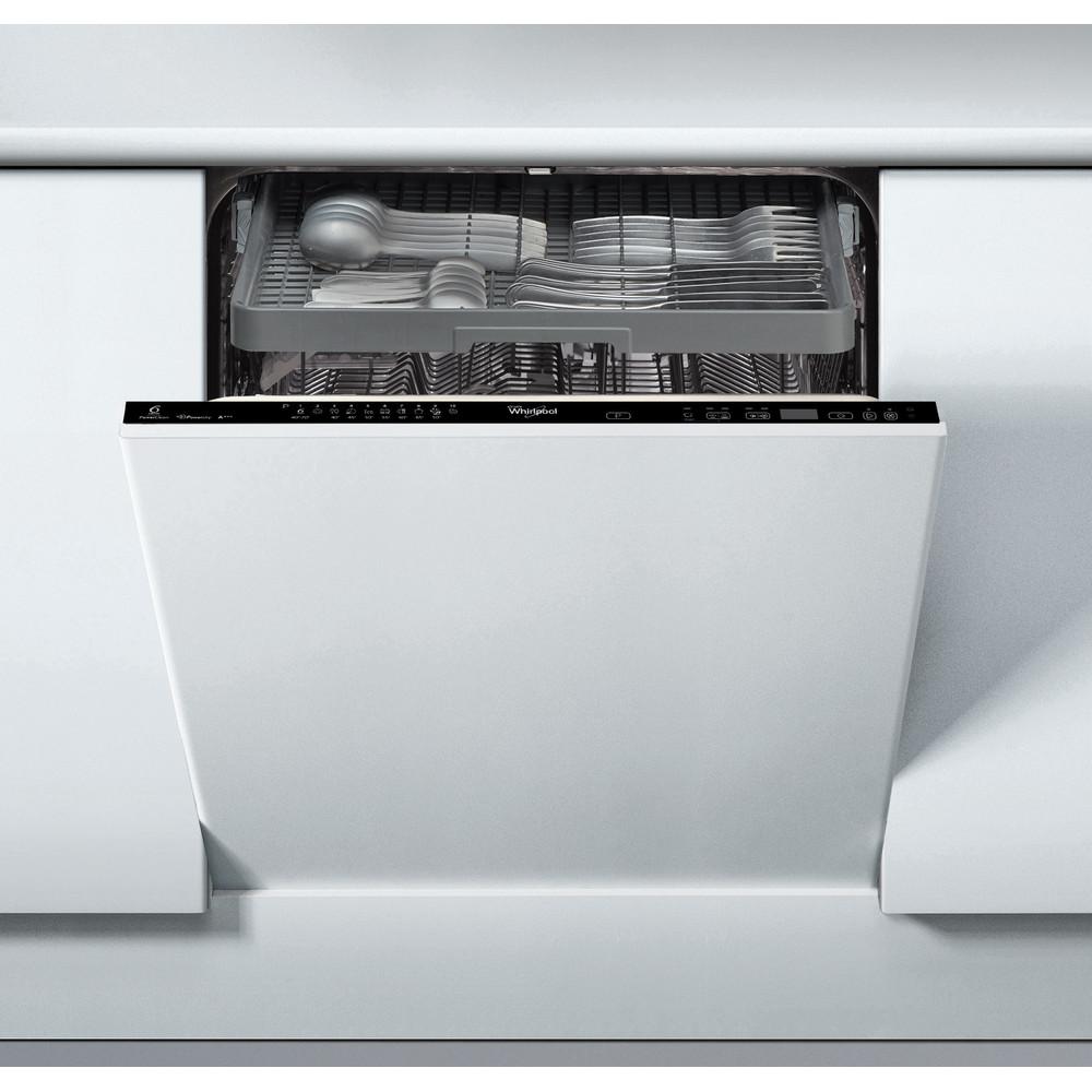 Whirlpool integrerad diskmaskin: färg svart, 60 cm - ADG 2030 FD