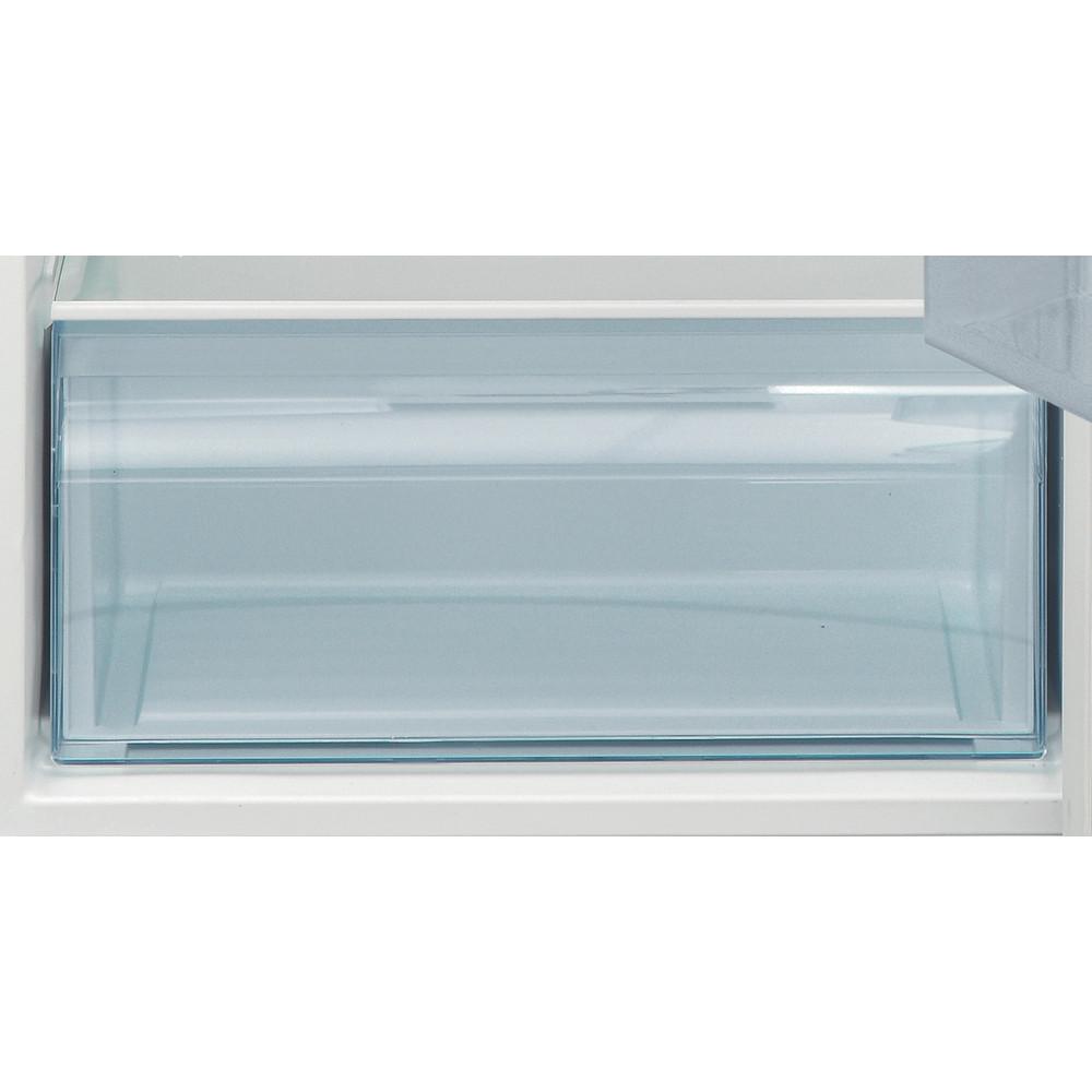 Indesit Combiné réfrigérateur congélateur Pose-libre I55TM 4120 S CH 2 Argent 2 portes Drawer
