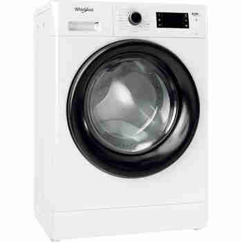 Whirlpool Maşină de spălat rufe Independent FWSG 61251 B EE N Alb Încărcare frontală F Perspective