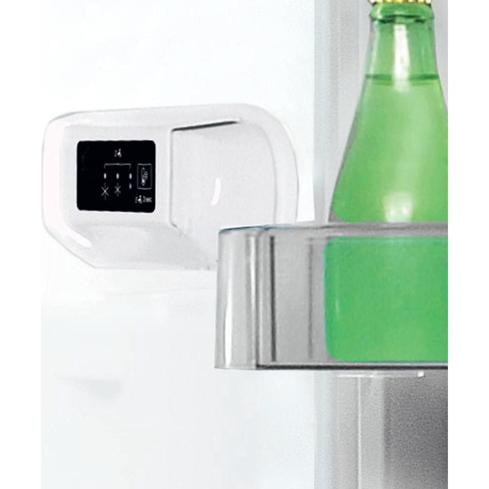 """""""Indesit"""" Šaldytuvo / šaldiklio kombinacija Laisvai pastatoma LI7 S1E W """"Global white"""" 2 doors Lifestyle control panel"""
