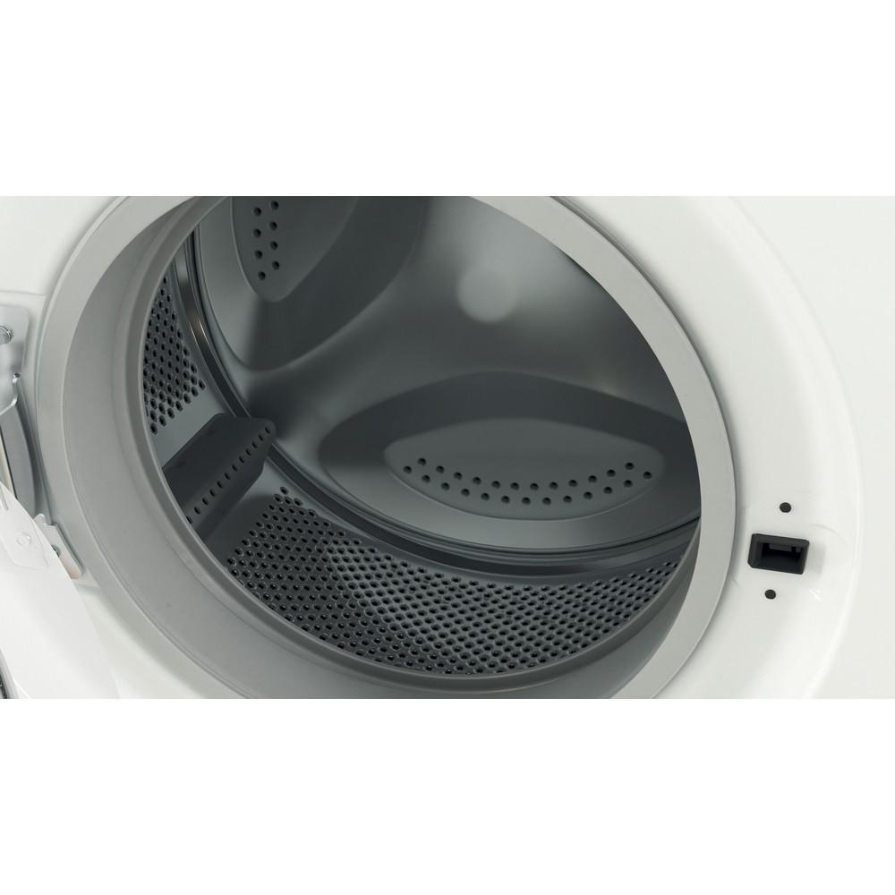 Indesit Перална машина Свободностоящи EWSC 61251 W EU N Бял Предно зареждане F Drum