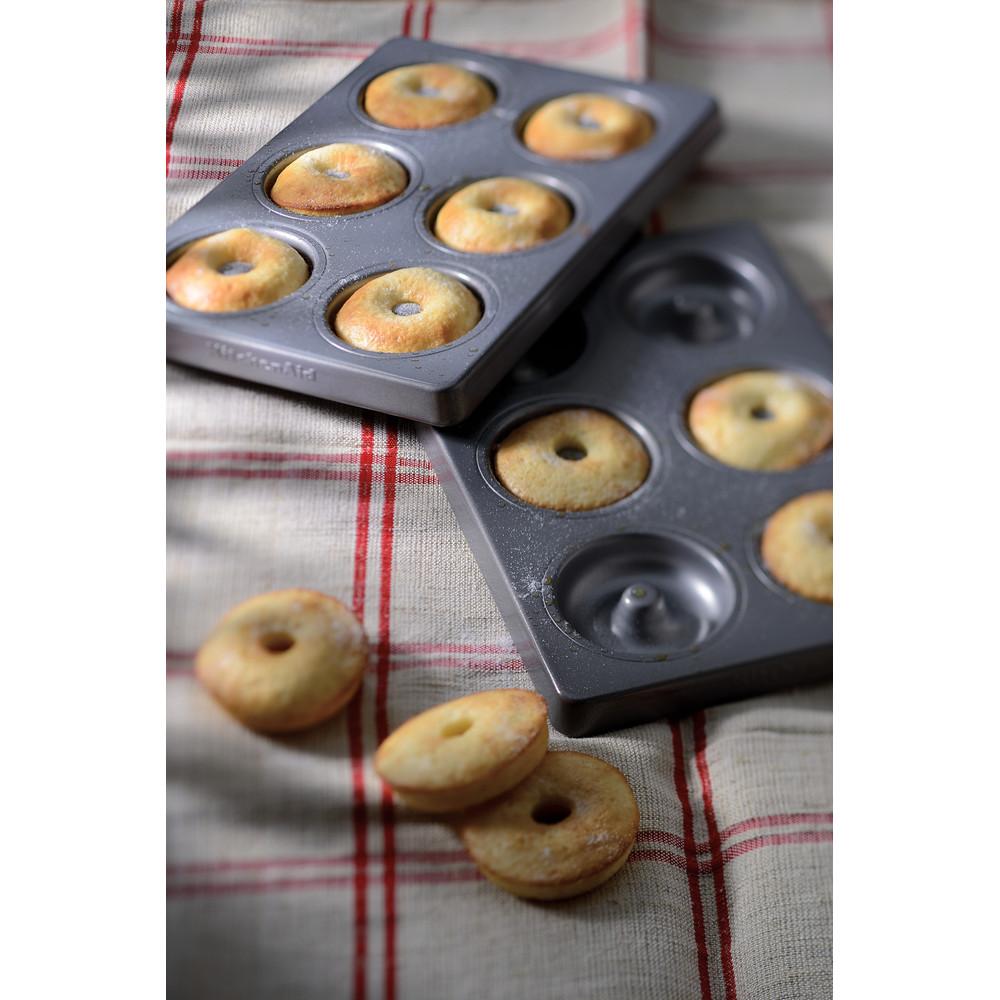 Set med två st 6 mini donut-formar KBNSS06DG