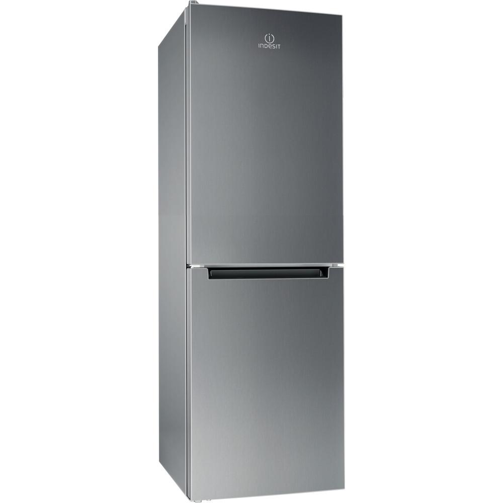 Indesit Холодильник с морозильной камерой Отдельностоящий DS 4160 S Серебристый 2 doors Perspective