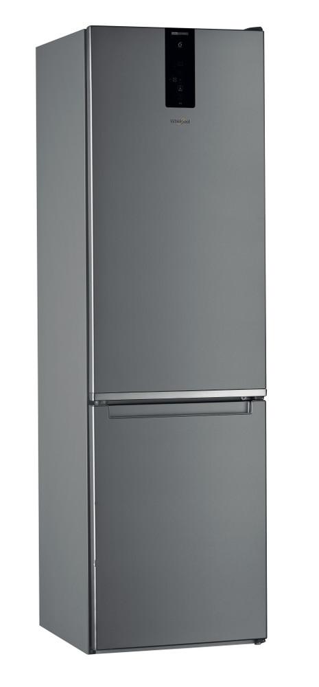 """Whirlpool Šaldytuvo / šaldiklio kombinacija Laisvai pastatomas W9 921D OX 2 """"Optic Inox"""" 2 doors Perspective"""