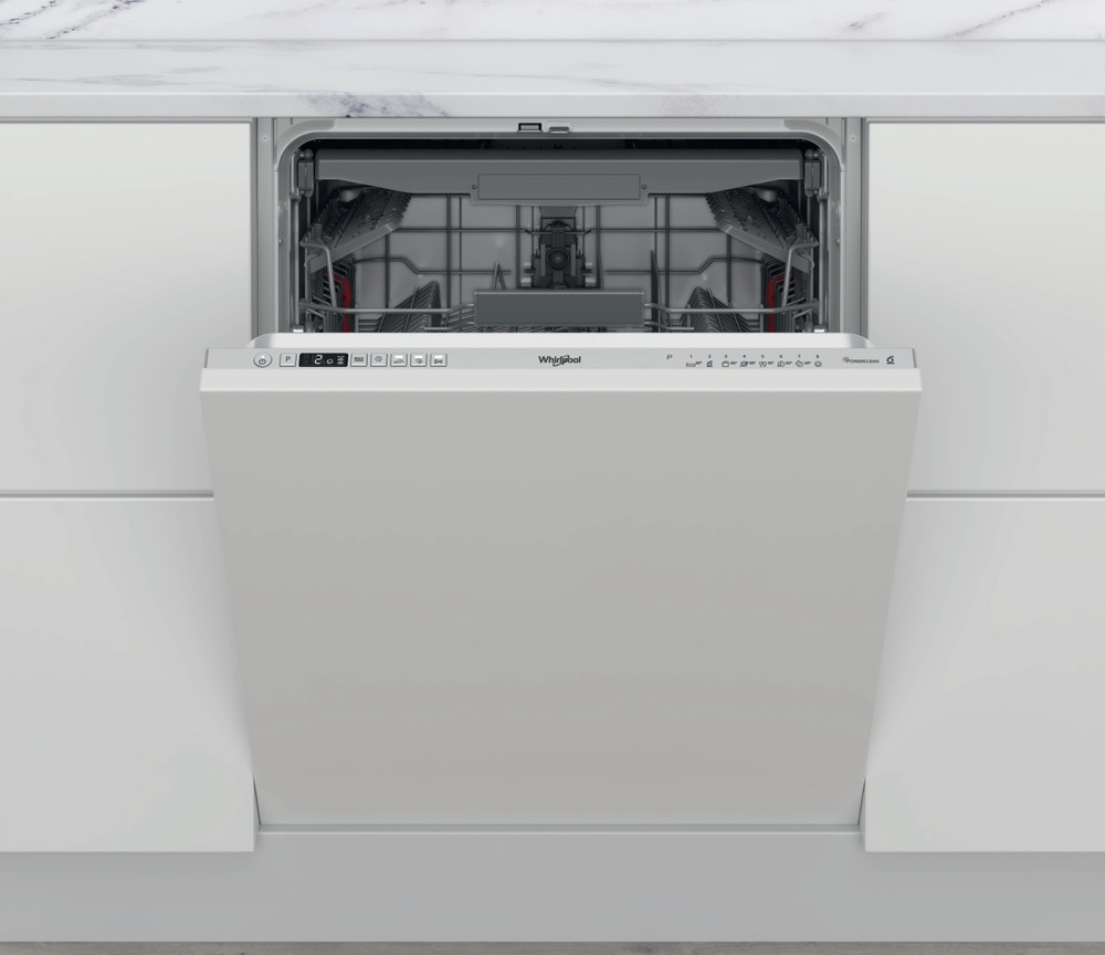 Whirlpool Mosogatógép Beépíthető WIC 3C34 PFE S Full-integrated D Frontal