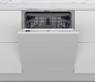 Whirlpool beépíthető mosogatógép: ezüst szín, normál méretű - WIC 3C34 PFE S