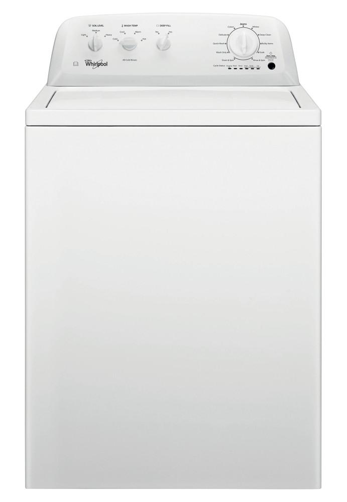 Whirlpool Washing machine Free-standing 4KWTW4705FW White Top loader F Frontal