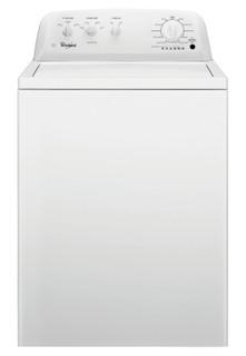 Whirlpool freestanding top loading washing machine: 15kg - 4KWTW4705FW