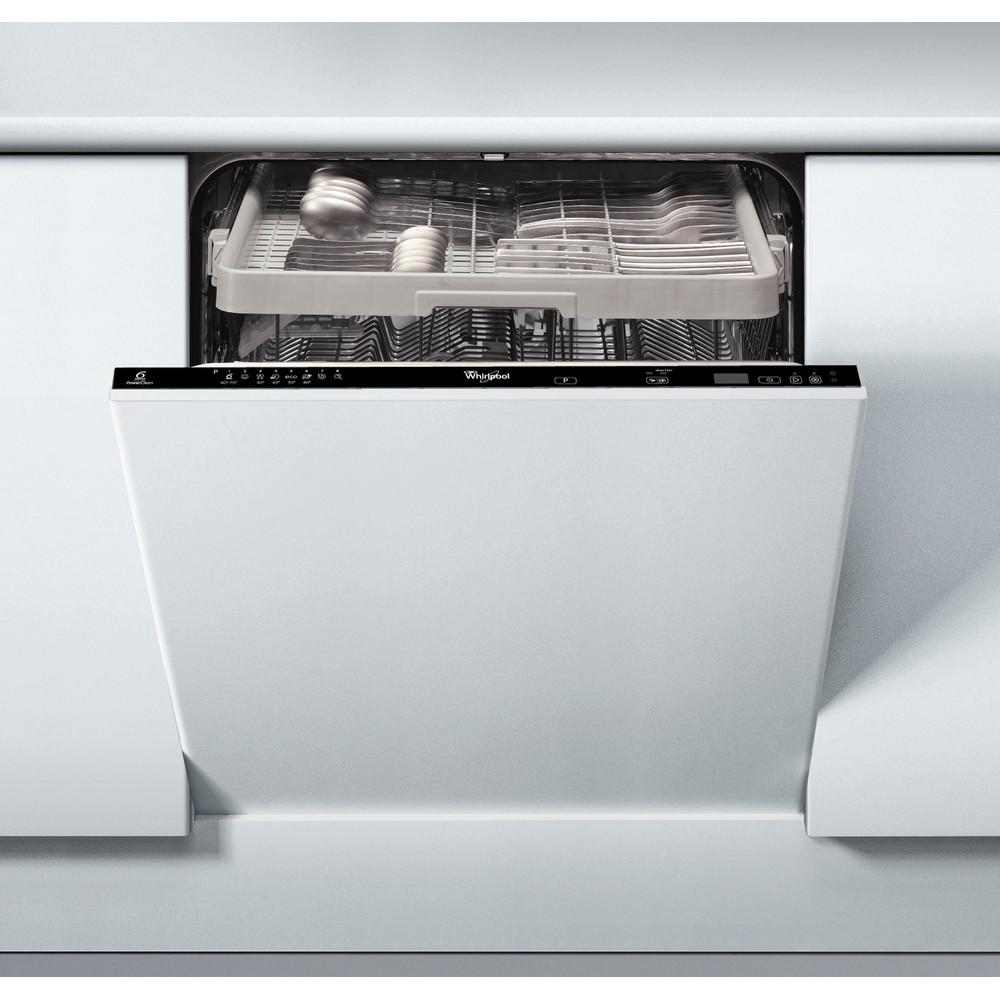 Whirlpool integrerad diskmaskin: färg svart, 60 cm - ADG 7654 FD