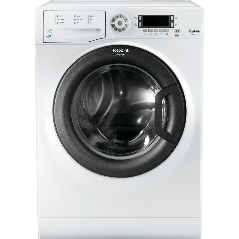 Hotpoint_Ariston Maşină de spălat rufe Neincorporabil WMD 722B EU.M Alb Încărcare frontală A ++ Frontal