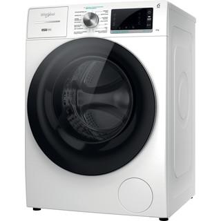 Whirlpool Máquina de lavar roupa Independente com possibilidade de integrar W7X W845WR SPT Branco Carga Frontal B Perspective