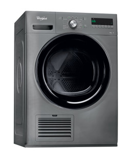Whirlpool condenser tumble dryer: freestanding, 8kg - DDLX 80115