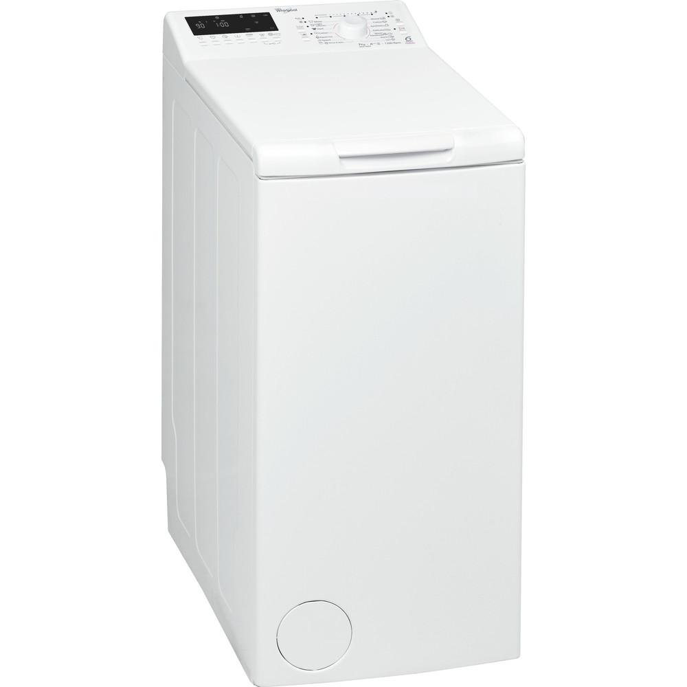Whirlpool toppmatad tvättmaskin: 7 kg - AWE 9890