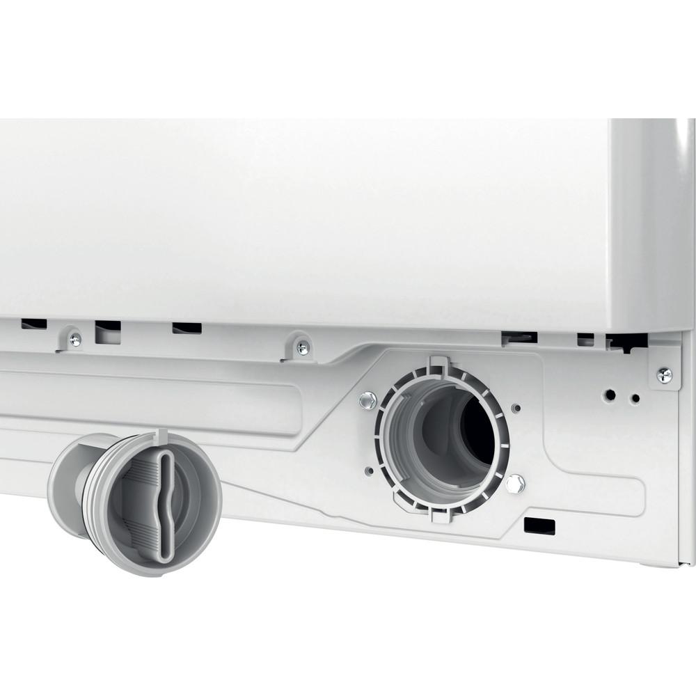 Indesit Pračka Volně stojící BWE 71283X WS EE N Bílá Front loader D Filter