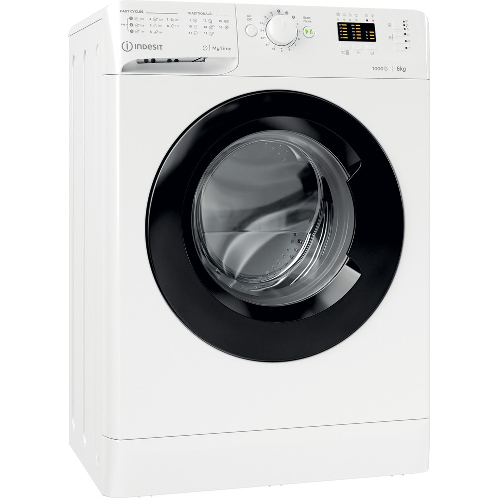 Indesit Пральна машина Соло OMTWSA 61053 WK EU Білий Front loader A+++ Perspective