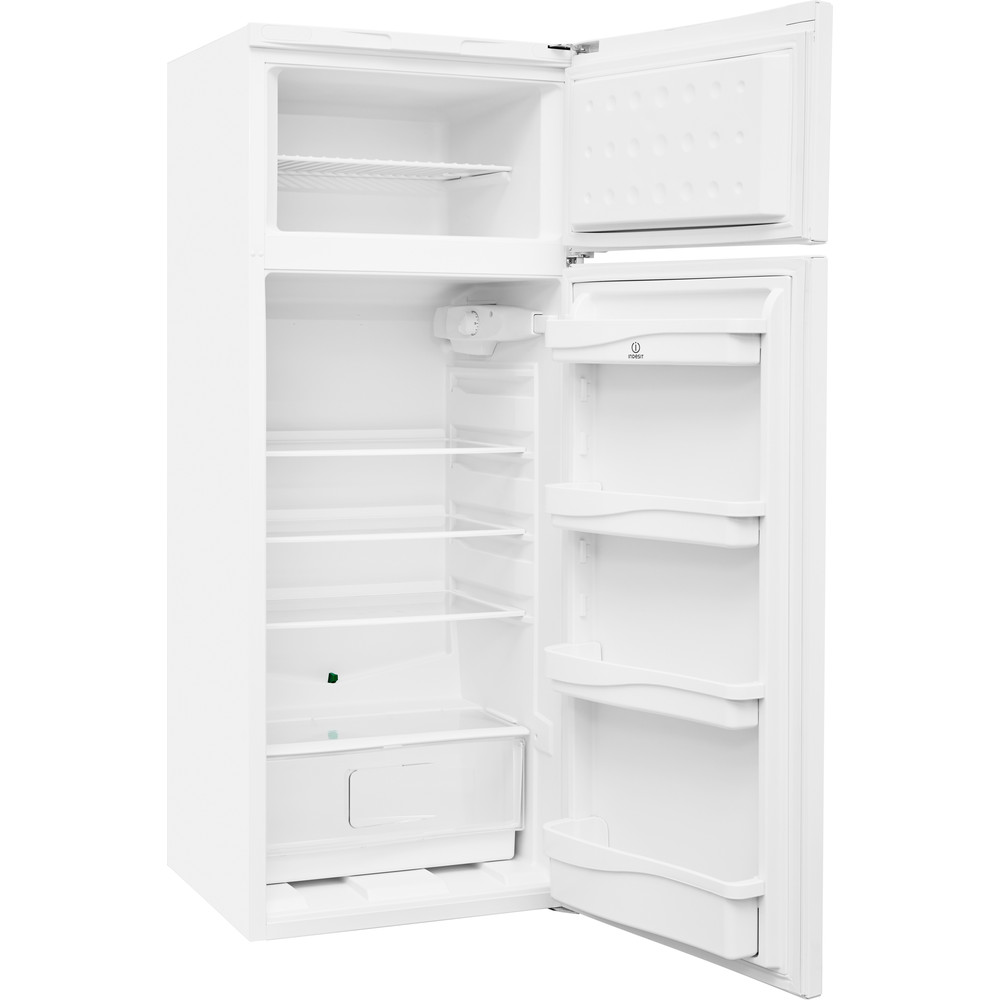 Indesit Комбиниран хладилник с камера Свободностоящи RAA 24 N (EU) Бял 2 врати Perspective open