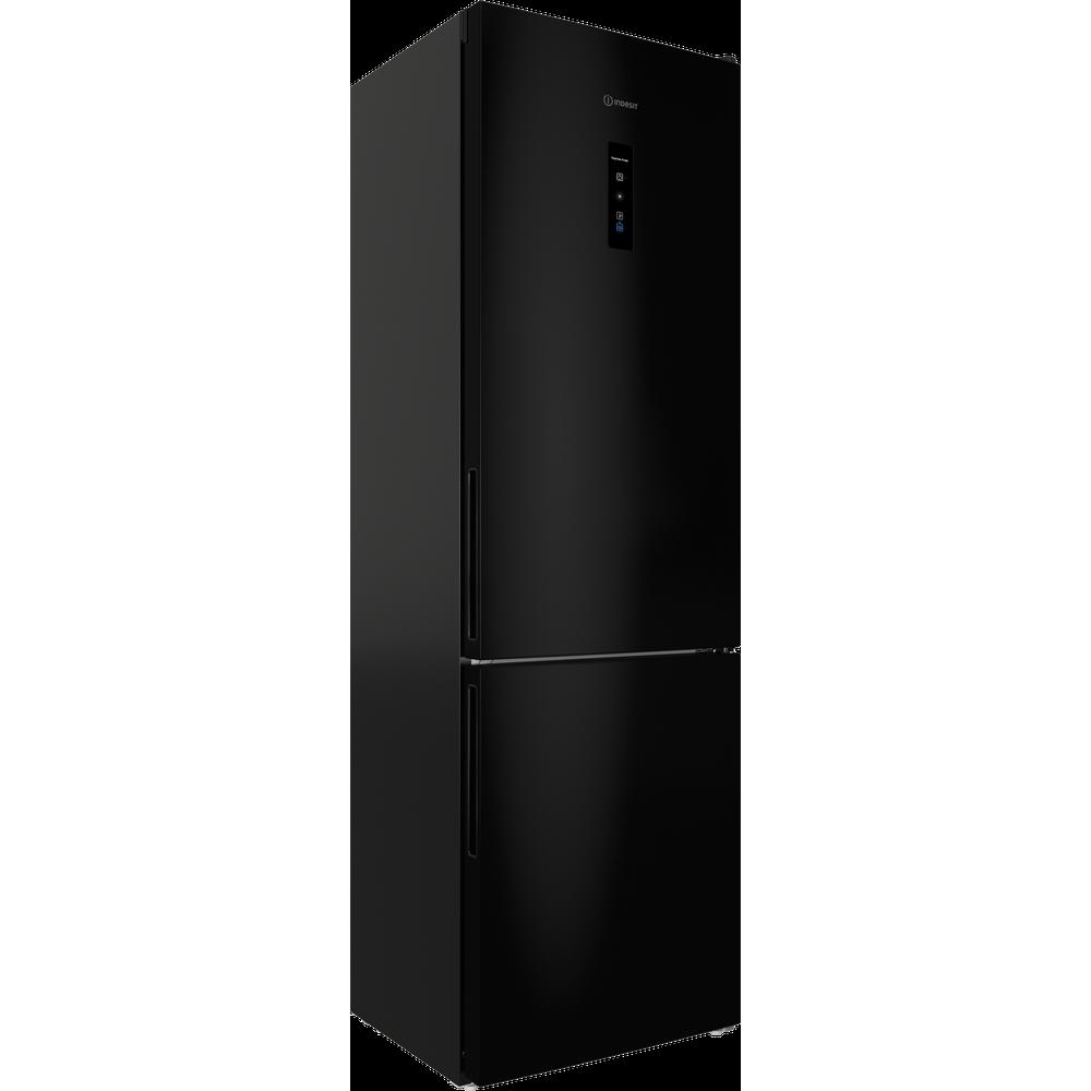 Indesit Холодильник с морозильной камерой Отдельностоящий ITR 5200 B Черный 2 doors Perspective