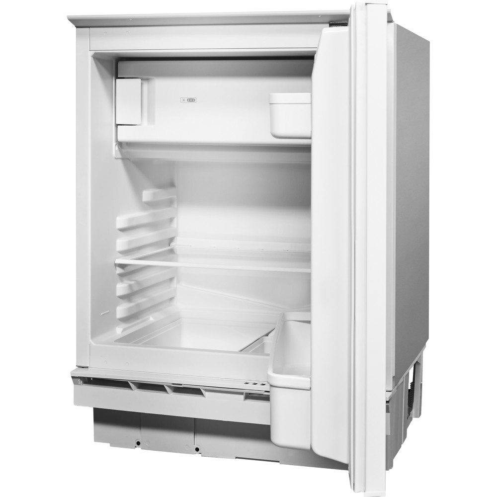 Indesit Refrigerator Built-in IF A1.UK Steel Perspective open