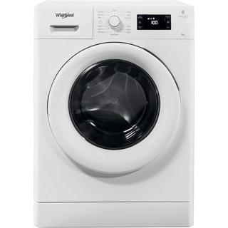 Whirlpool freestanding front loading washing machine: 7kg - FWG71484W UK
