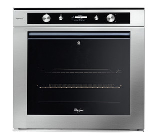 Whirlpool built in electric oven: inox color - AKZM 6550/IXL
