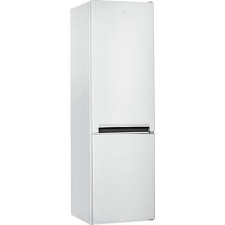 Indesit Комбиниран хладилник с камера Свободностоящи LI9 S1E W Глобално бяло 2 врати Perspective