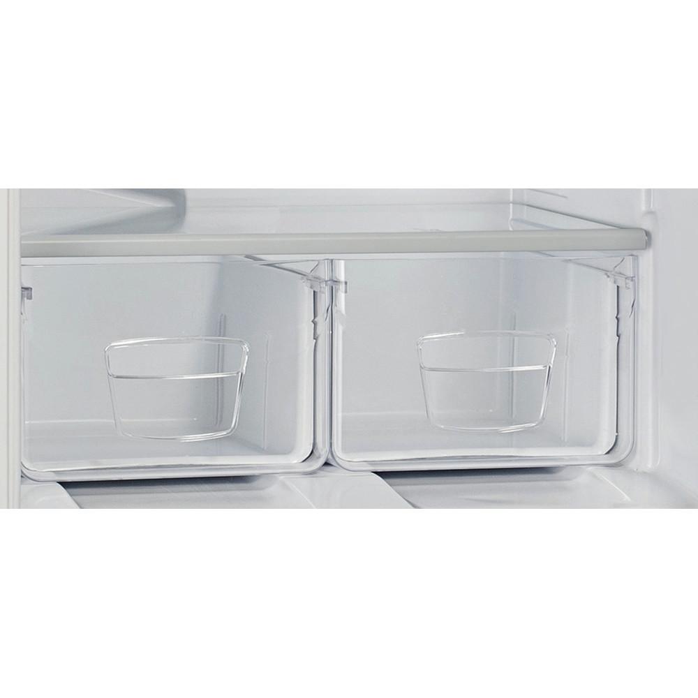 Indesit Холодильник с морозильной камерой Отдельностоящий ES 15 Белый 2 doors Drawer