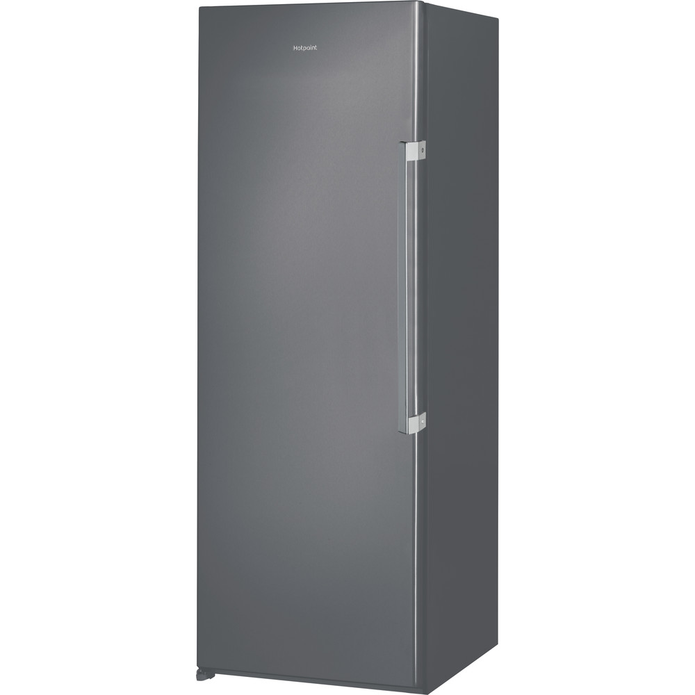 Hotpoint Freezer Free-standing UH6 F1C G 1 Graphite Perspective